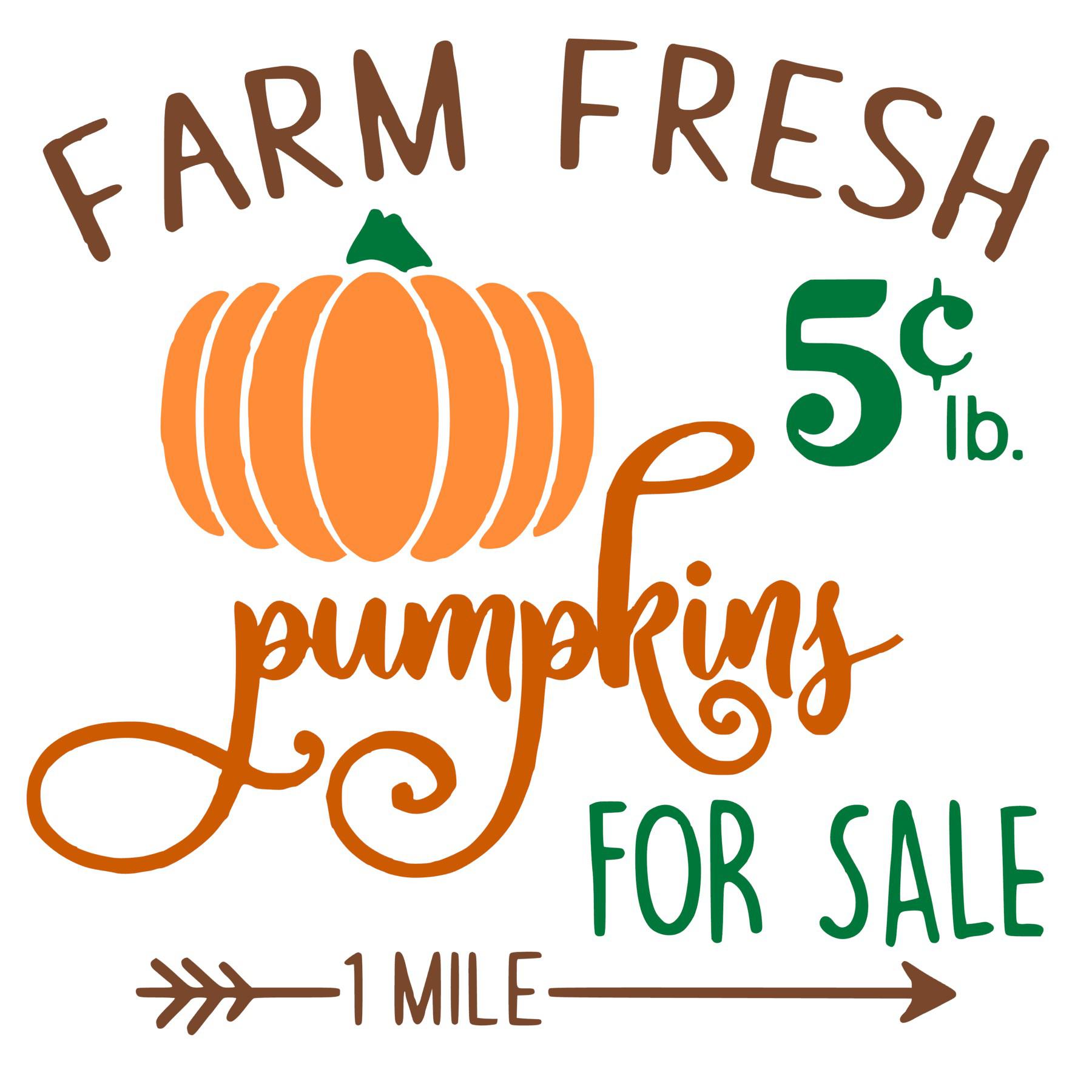 Free Vintage Pumpkin Sign file. jpg, png, studio3 svg
