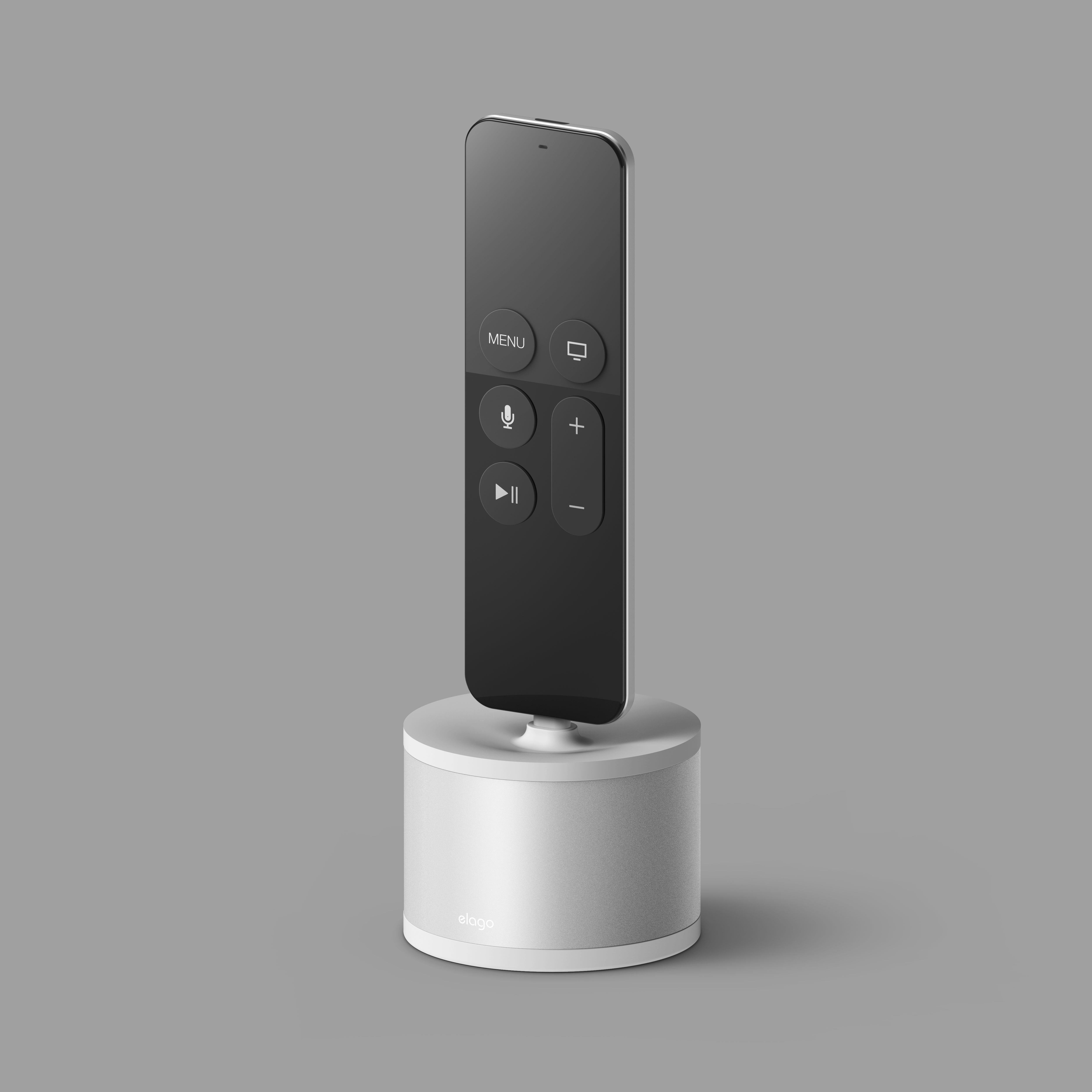 elago D Stand Charging Station Silver. Works with Apple