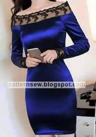 Pattern Sewing باترون مفصل لفستان قطيفة قصير Fashion Dresses Fashion Fancy Dresses