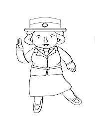 Juliette Low Coloring Page Brownie Girl Scouts Girl Scouts