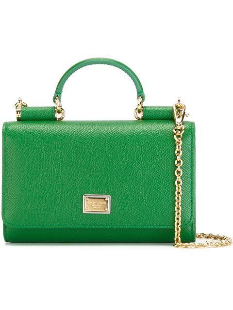 72acd37b13 Dolce & Gabbana mini 'Von' wallet cross body bag. Dolce & Gabbana mini ' Von' wallet cross body bag Shoulder Handbags ...