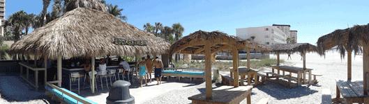 Lido Key Tiki Bar At The Ritz Carlton Beach Club Florida