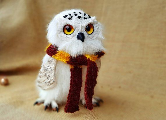 Hedwig Harry Potter Hedwig Stuffed Hedwig Coruja Do Harry Potter Edwiges Harry Potter Harry Potter Itens