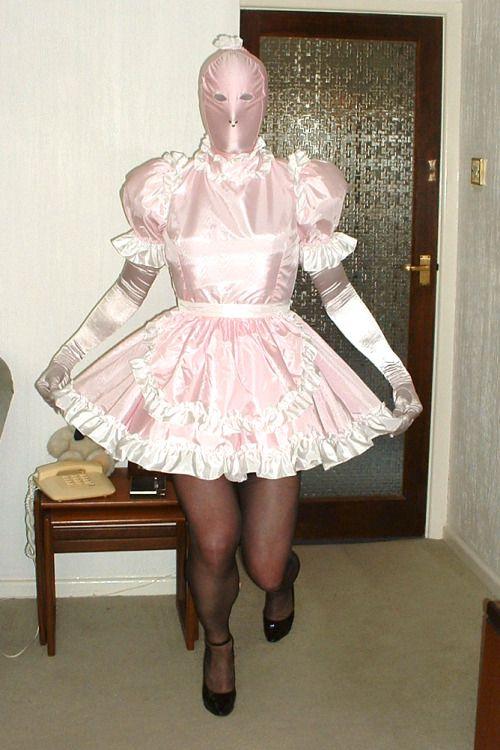 Feminized male maid