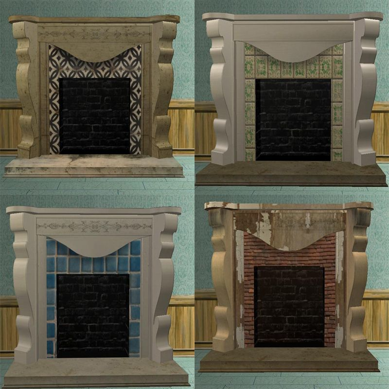 Squiggly Column Fireplace for Melanie - Downloads - BPS Community ...