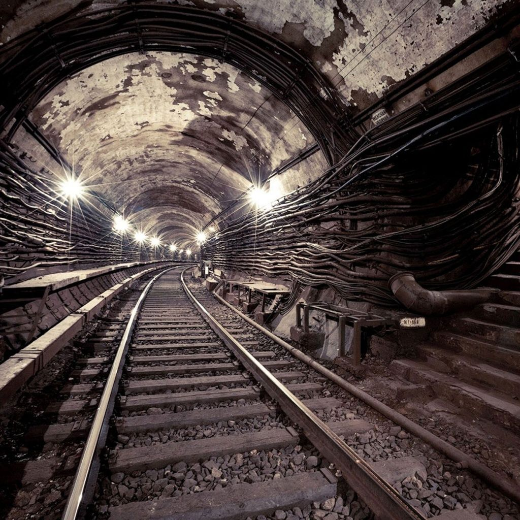Wallpapers Of Trains: Trains Urban Subway Tunnels Vehicles Creative Photography