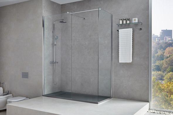 Plato de ducha Atom, un plato de ducha ligero y de líneas modernas ...