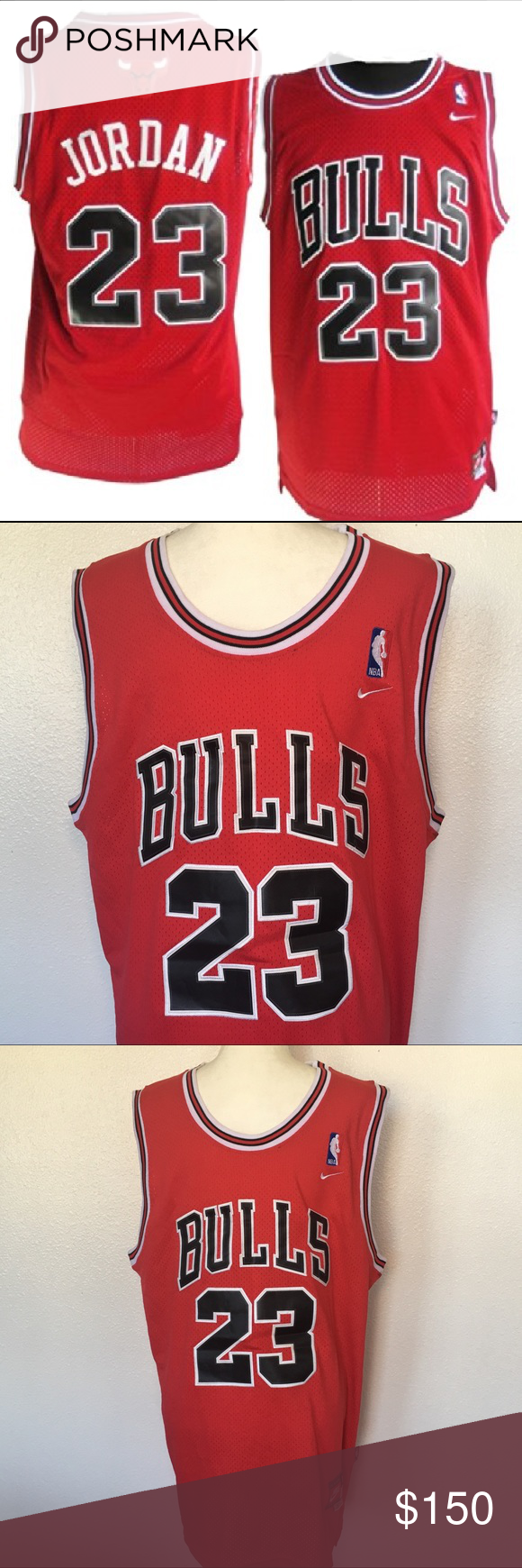 d0958c4b2fb Nike Chicago Bulls Jordan Rewind Swingman Jersey Nike Chicago Bulls Michael  Jordan Rewind Swingman Throwback Jersey