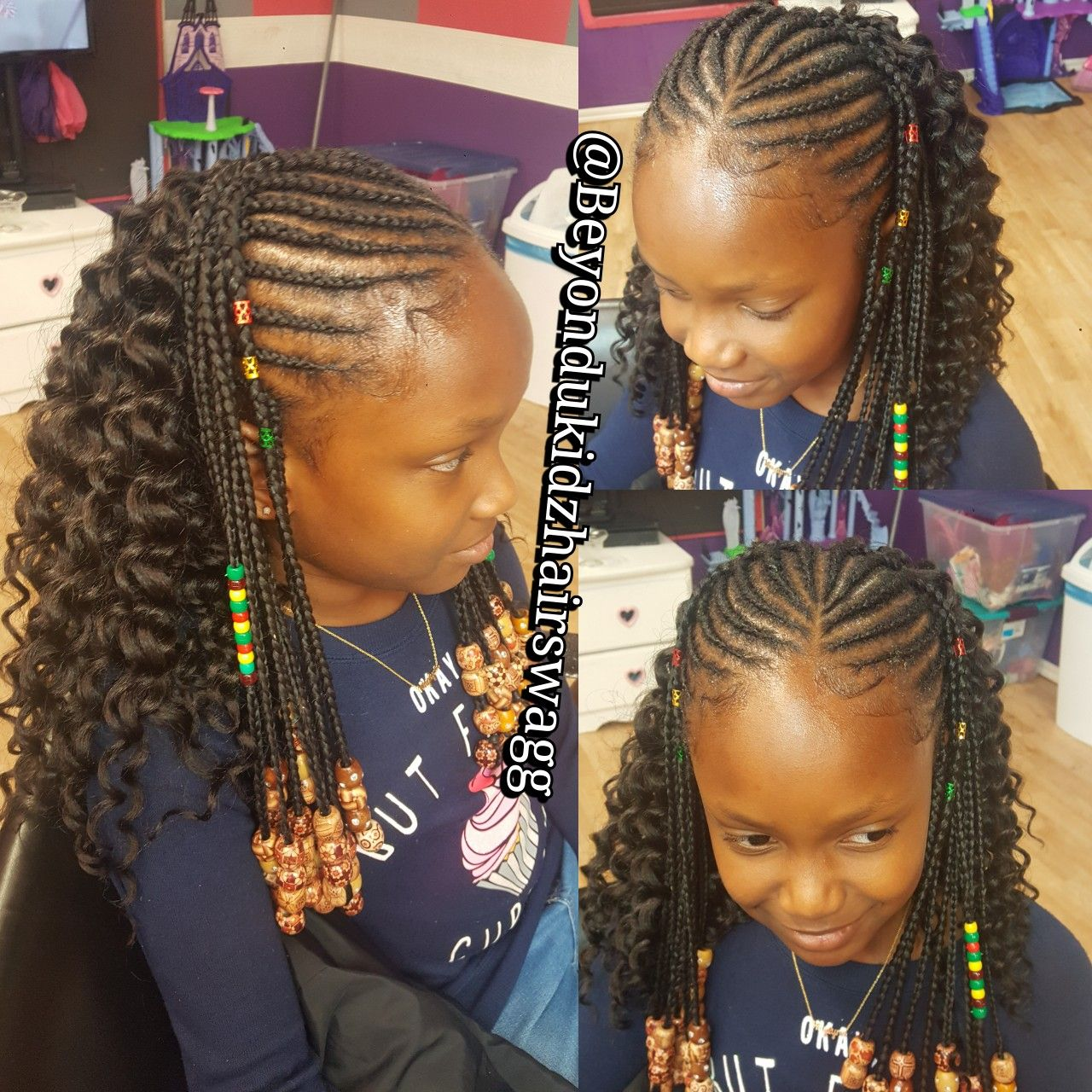 Pin by Tamika Neal on Kids hairstyle Pinterest Kid braid styles