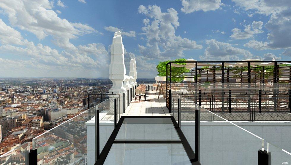 Fotos Asi Sera El Nuevo Riu En El Edificio Espana Edificios Espana Inicio De Verano