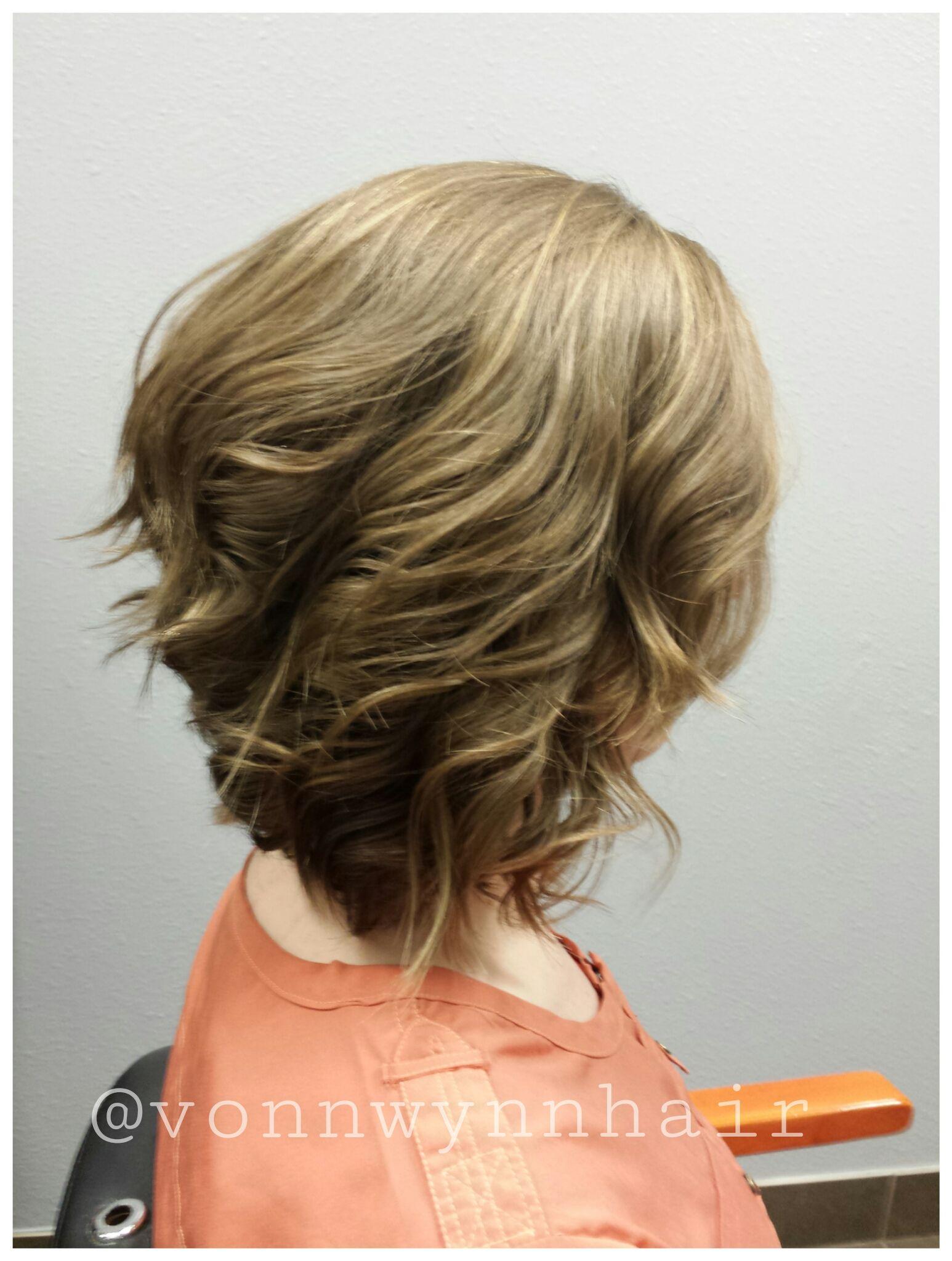 Short Womens Haircut Lived In Hair Textured Haircut Layered