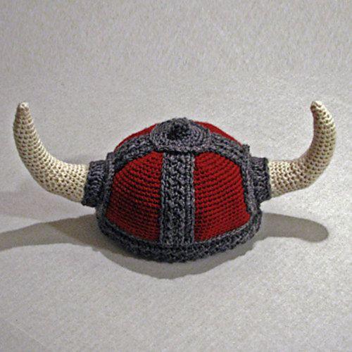 Patrón de Sombrero Vikingo en ganchillo - Viking Hat Crochet Pattern ...
