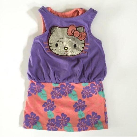 4a1d8a95c Hello Kitty Other - NWOT Hello Kitty Dress | Purple | Hello kitty ...
