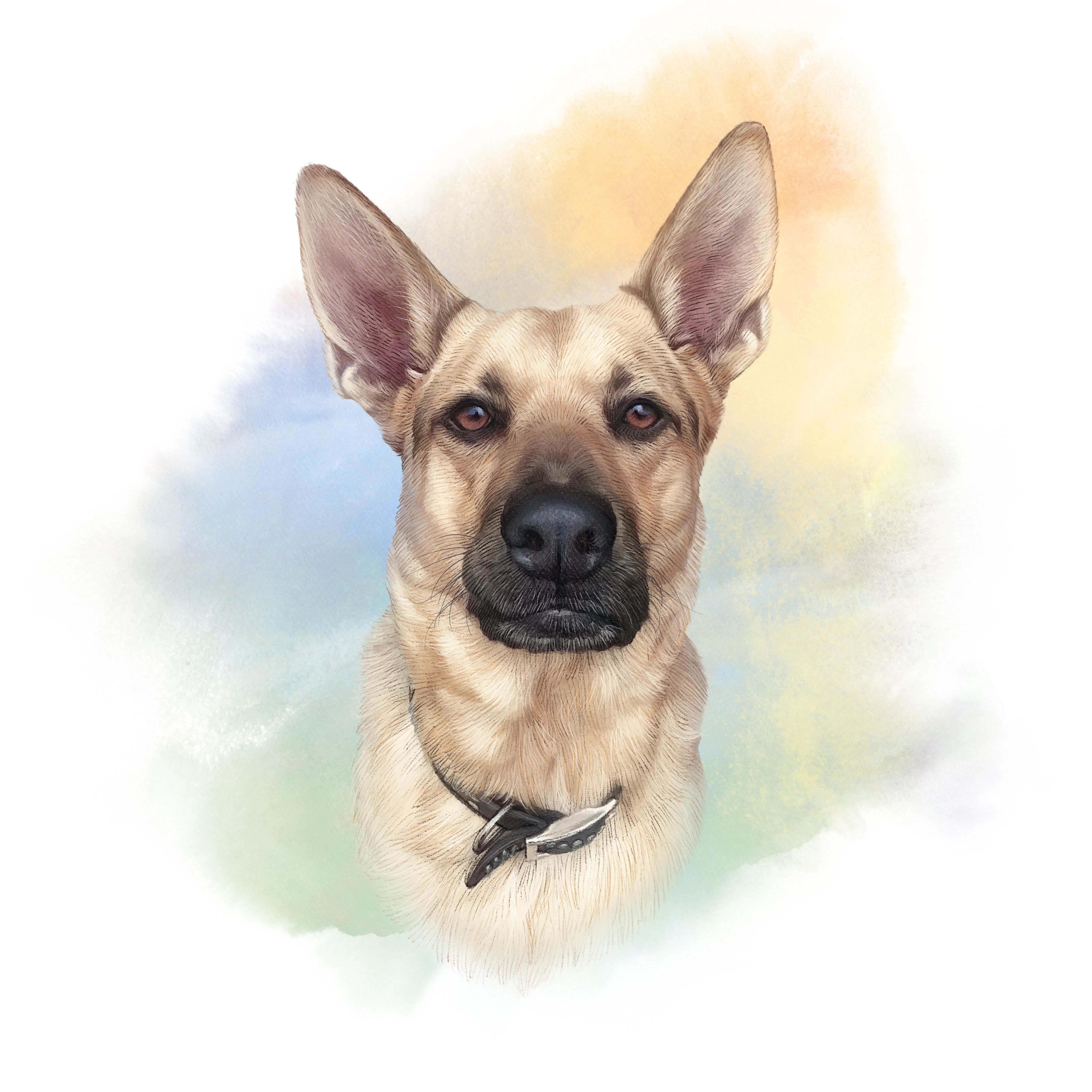 Your product's name Dogs, Dog lovers, Dog paintings