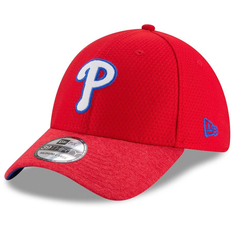 finest selection 9ae13 e2274 Men s Philadelphia Phillies New Era Red Popped Shadow 39THIRTY Flex Hat,  Your Price   29.99