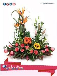 Globos Flores Y Fiestas Flores Flores Arreglo Floral