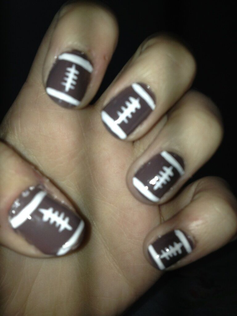 This is super cute but I\'d rather have basketball nails with the ...