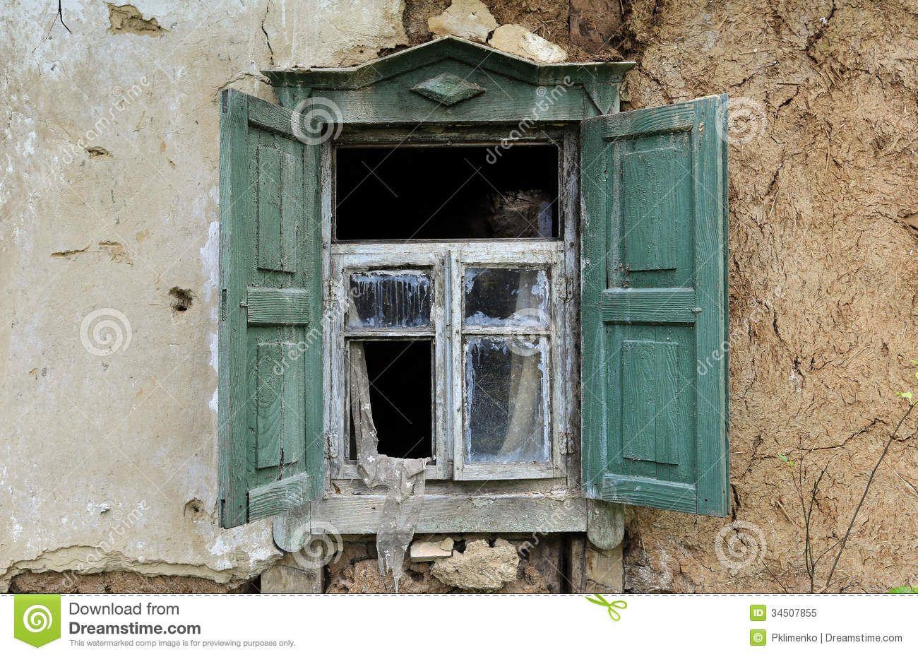 Old window | Old windows, House windows, Windows