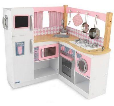 Pretend Play Kitchens, Kids Wooden Kitchen Sets, Kidkraft ...