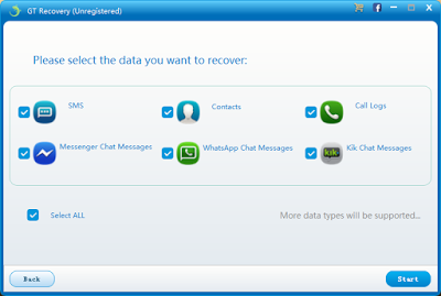 Gt Recovery Recovery Data Recovery Messages
