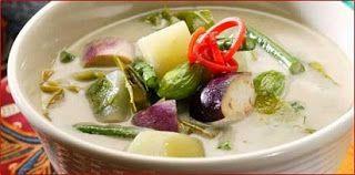 Resep Cara Membuat Sayur Lodeh Tewel Resep Masakan Resep Masakan Asia Resep