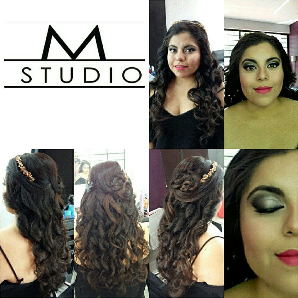 Make-up and hair styling
