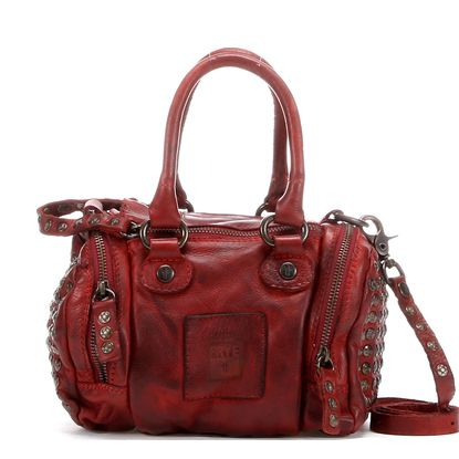 Maple and West Frye Brooke Small Satchel - Burnt Red