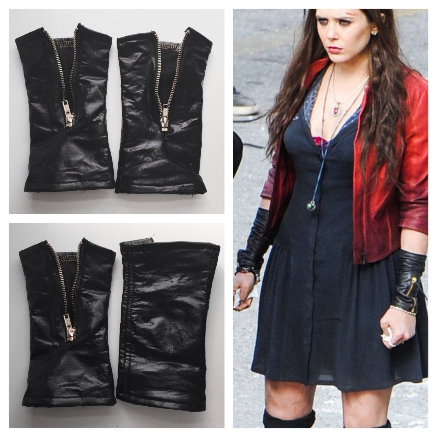 Scarlet Witch Armwarmers Avengers 2 Cosplay Pinterest Scarlet