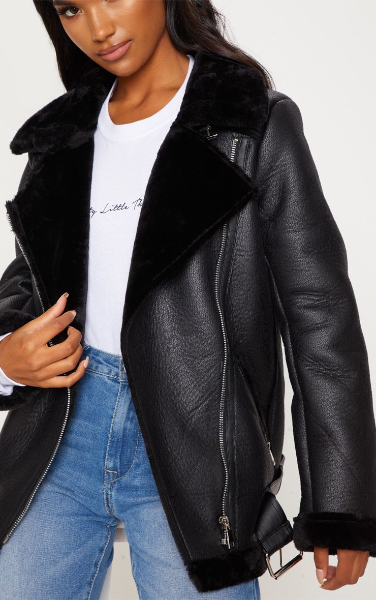 Pin by Alana Smith on Paris February Fur leather jacket
