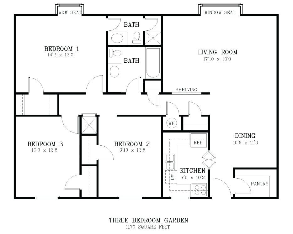 Image result for typical room sizes | Bedroom size, Bedroom ...