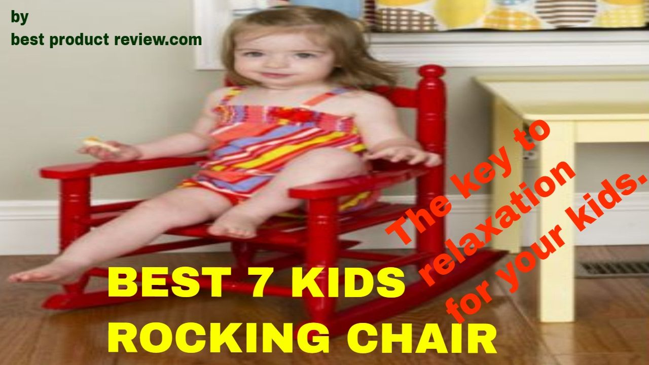 kids size wooden rocking chair childs rocker the key to relaxation