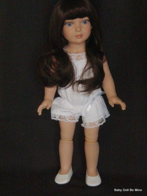 """New ~ Tonner ~ My Imagination Deluxe Basic Starter Brunette 18"""" Doll ~ Exra Wig #Tonner"""