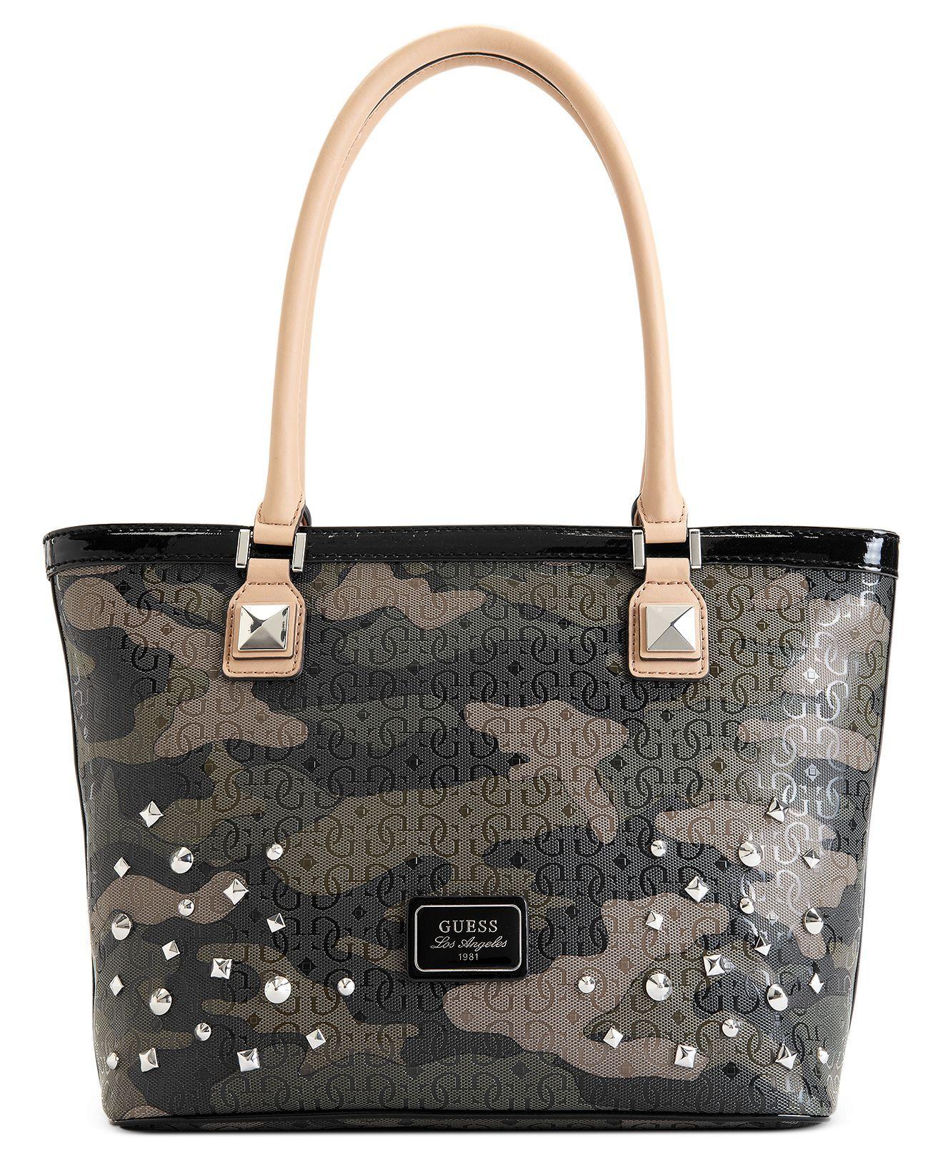 GUESS Handbag, Specks Camo Classic Tote Handbags