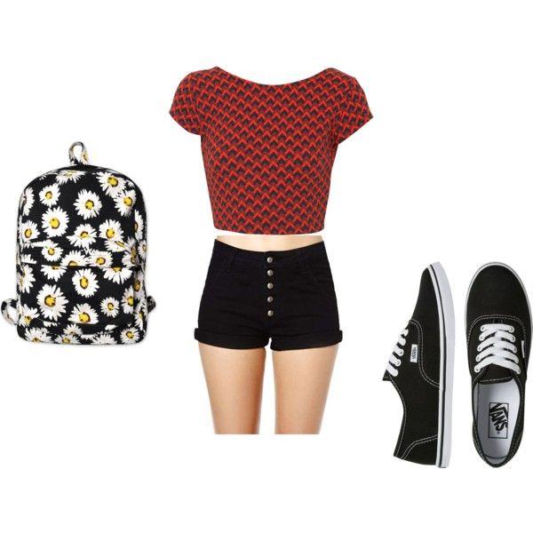 school look | Looks | Pinterest
