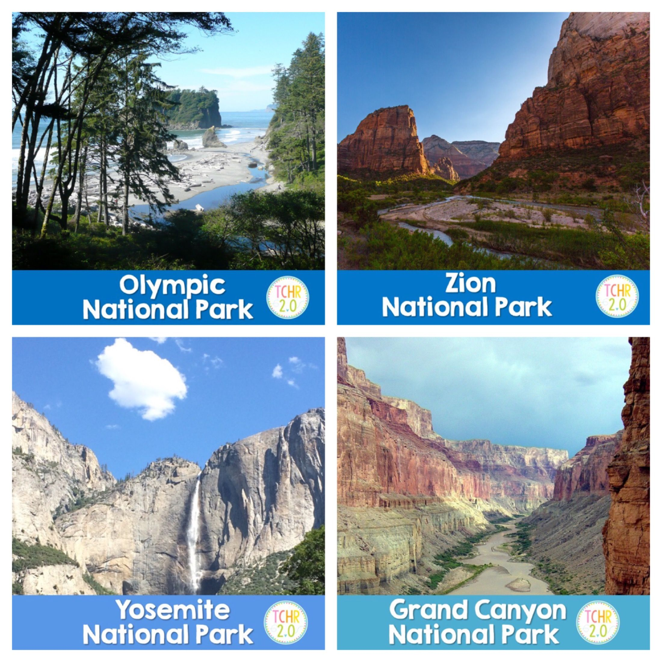Share The Love Of Our National Parks With Your Students