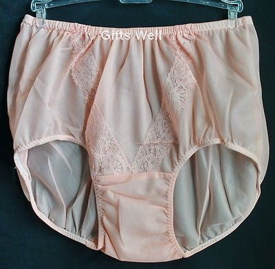 Briefs Panties Sheer Nylon Lace Underwear Pinup Knickers Hip   New