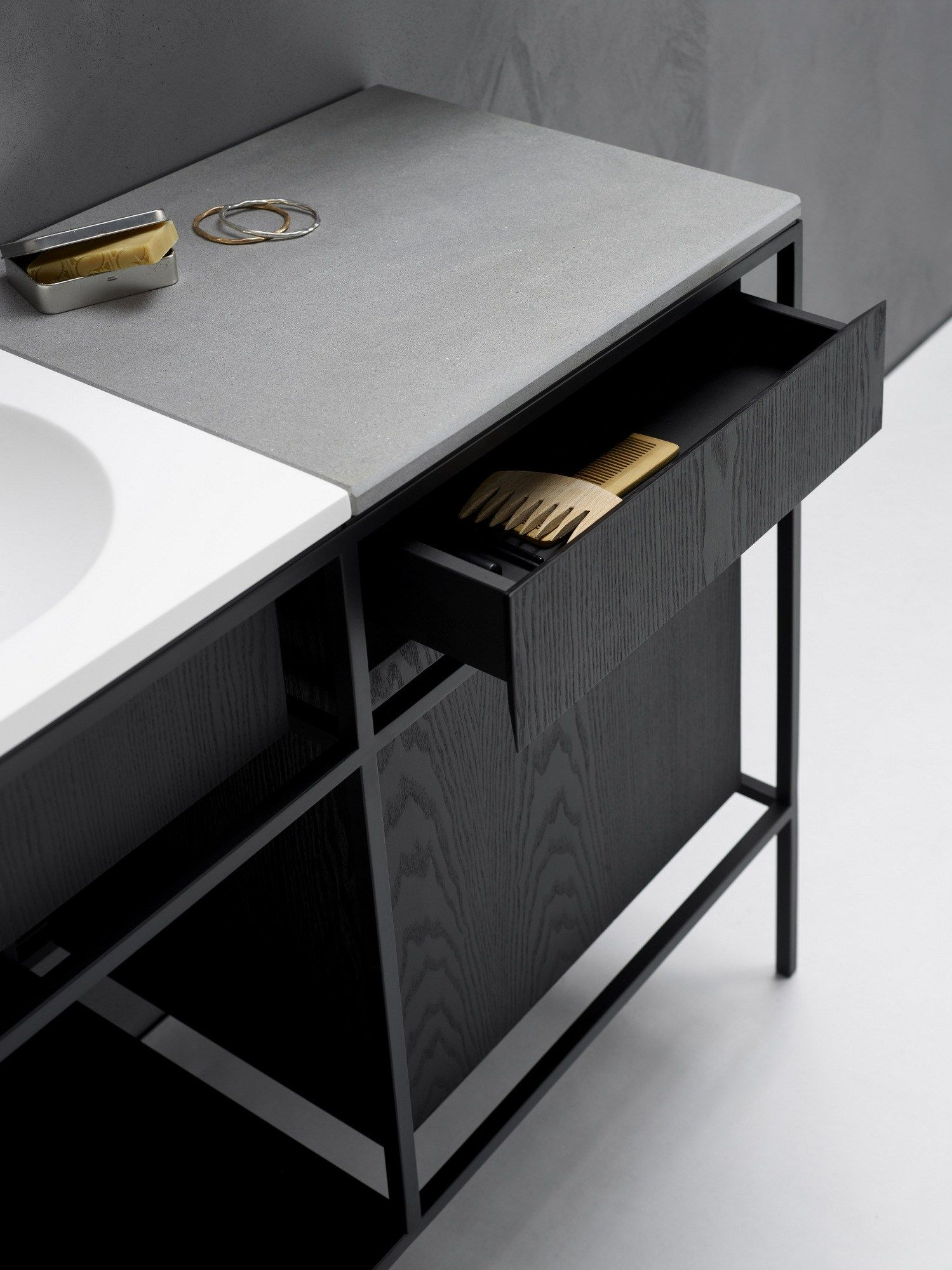 Vanity Unit With Drawers FRAME By Ex.t Design NORM ARCHITECTS