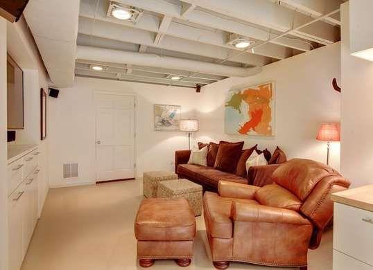unfinished basement ceiling paint. 11 Doable Ways to DIY a Basement Ceiling  Unfinished basement