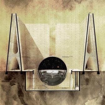Schnitt 2 - Astronomiemuseum, Chile