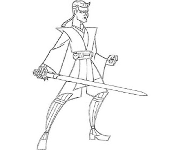 star wars coloring pages anakin | coloring kids | Pinterest