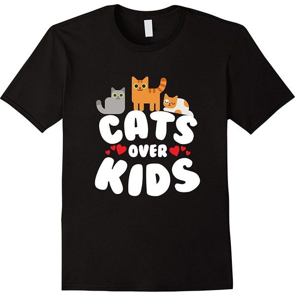Amazon.com: Cats Over Kids T-Shirt: Clothing (£13) via Polyvore featuring t-shirts