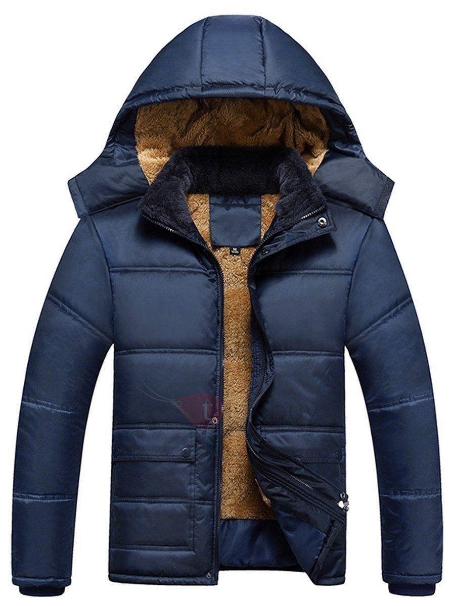 Abrigo ligero color plumones contra frío para hombres  a71370896cd