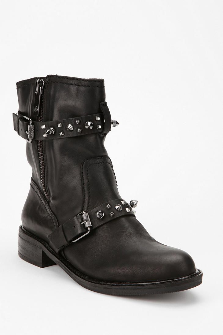 Sam Edelman Adele Spike-Strap Moto Boot  #UrbanOutfitters