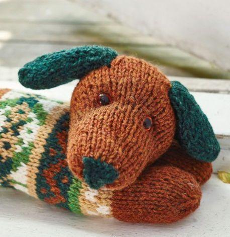 Sausage Dog Draught Excluder Free Knitting Pattern | Freie ...