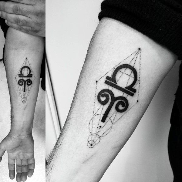 75 Aries Tattoos For Men Zodiac Ink Design Ideas Tattoo