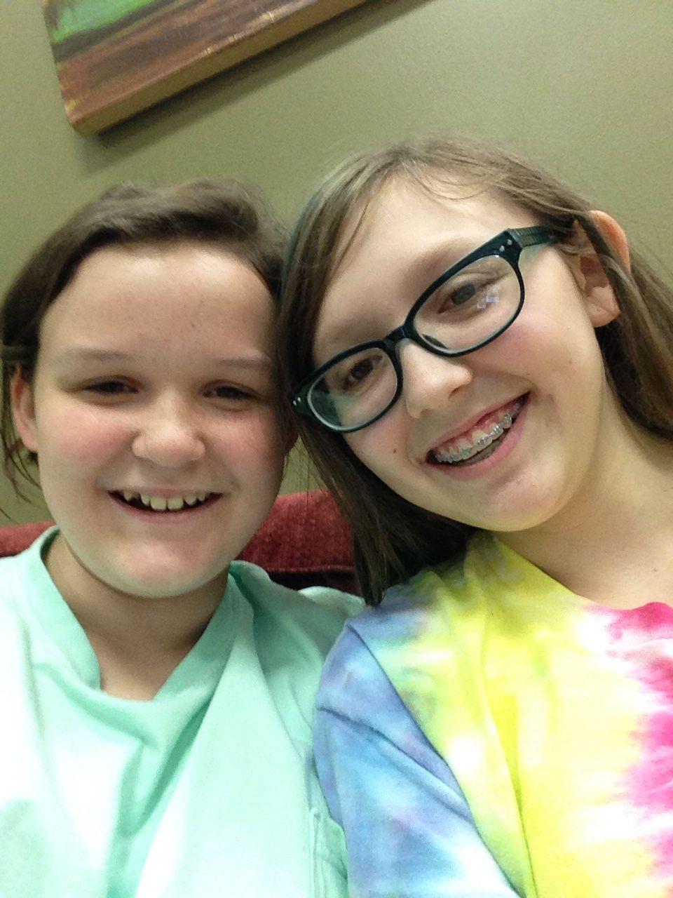 Me and my sis @chloe1258