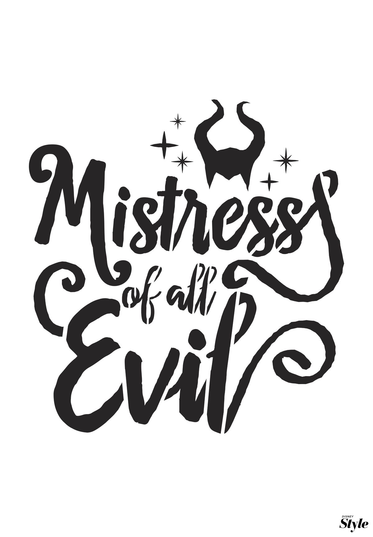 The mistress of all evil. Via Disney Style. | Kings & Queens Of All ...