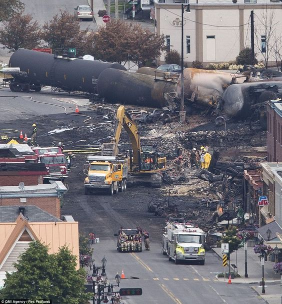 Runaway Canadian Oil Tanker Train May Have Been Tampered