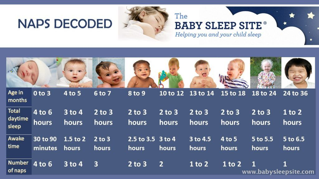 Baby Nap Chart: Learn How Long Baby Should Nap and How ...