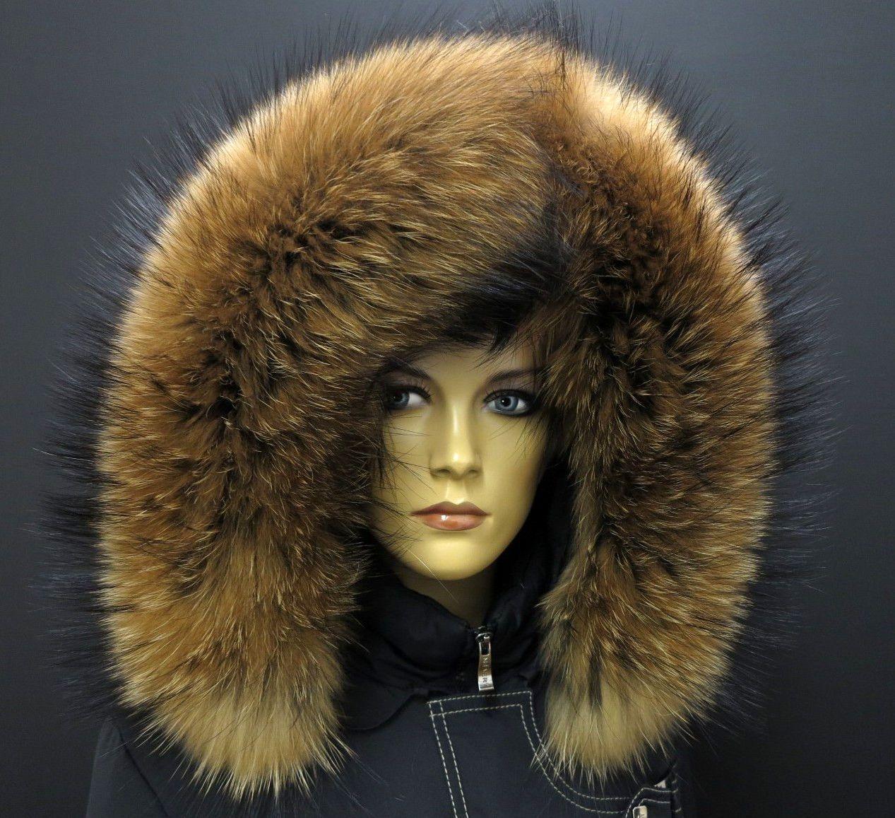 Novinka - krásná kožešina na kapuci z finského mývalovce přímo pro Vaši  bundu  pravakozesina  fur  real  finnraccoon 9da7d97ab6